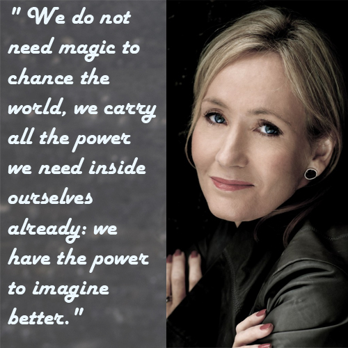 Rowling on imagination